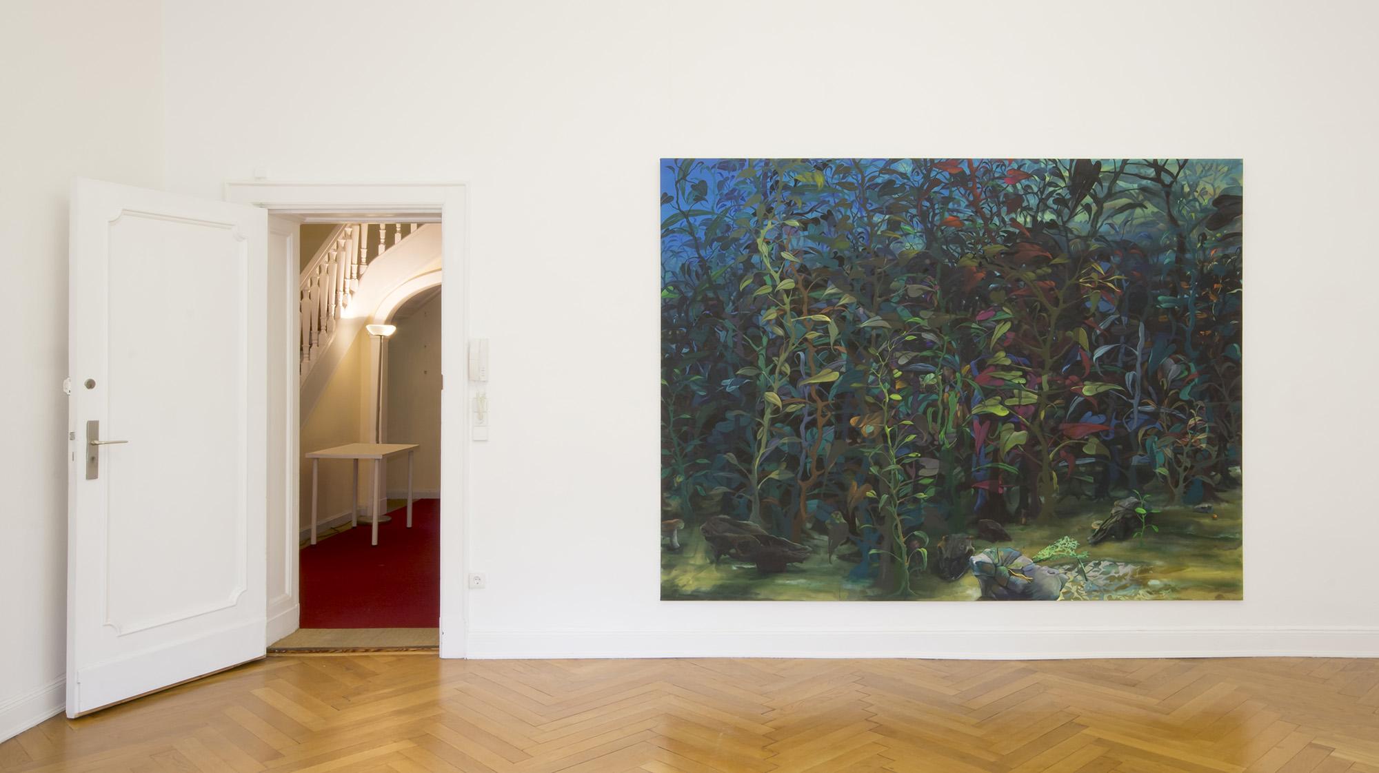 Arno Bojak - Raumfoto der Ausstellung