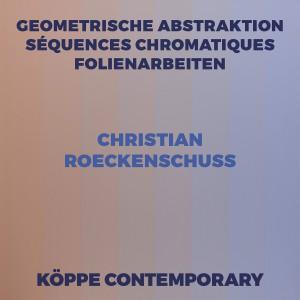 Christian Roeckenschuss – Katalog