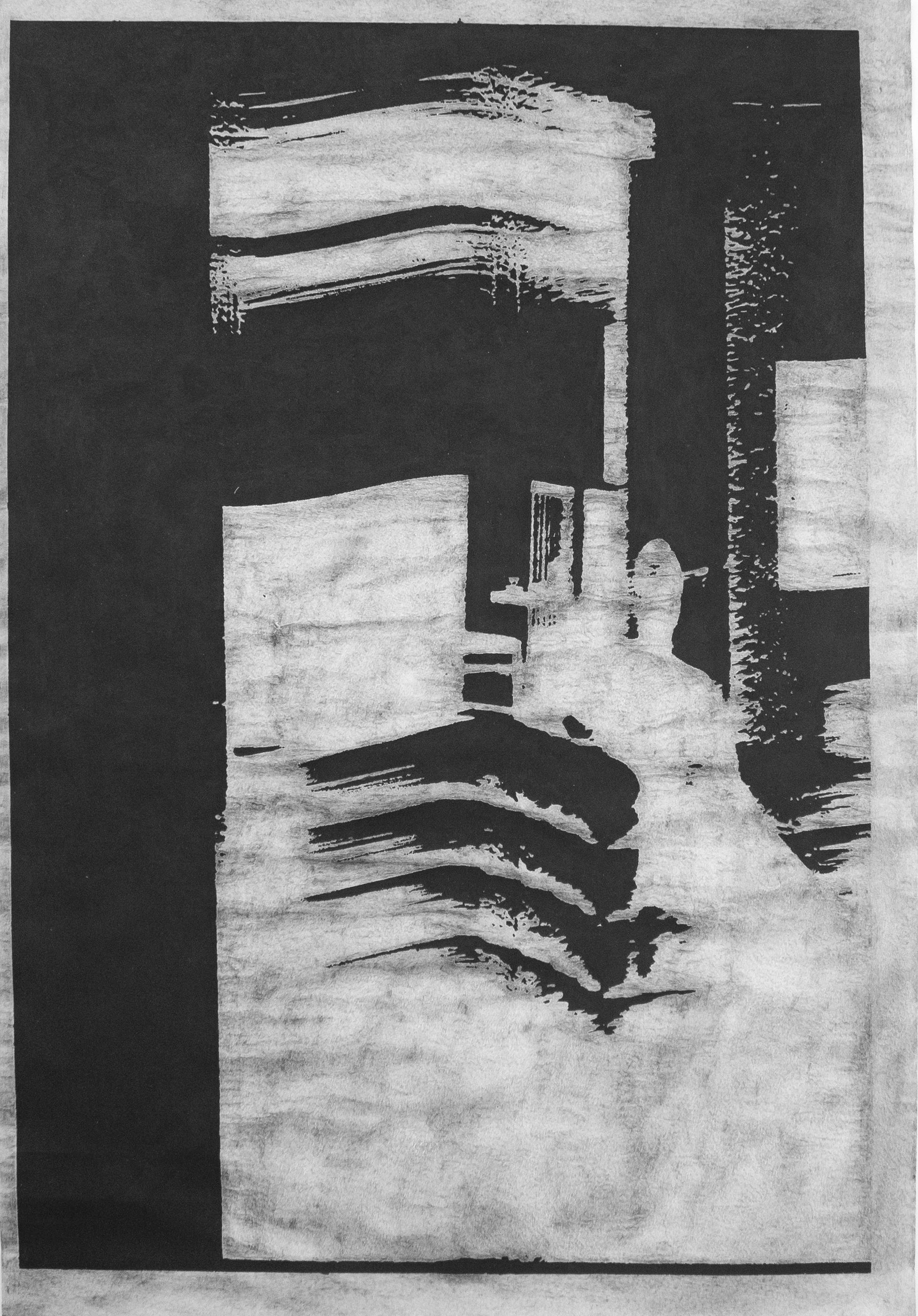 Christian Rickert | Interieur mit Figur und Teetasse