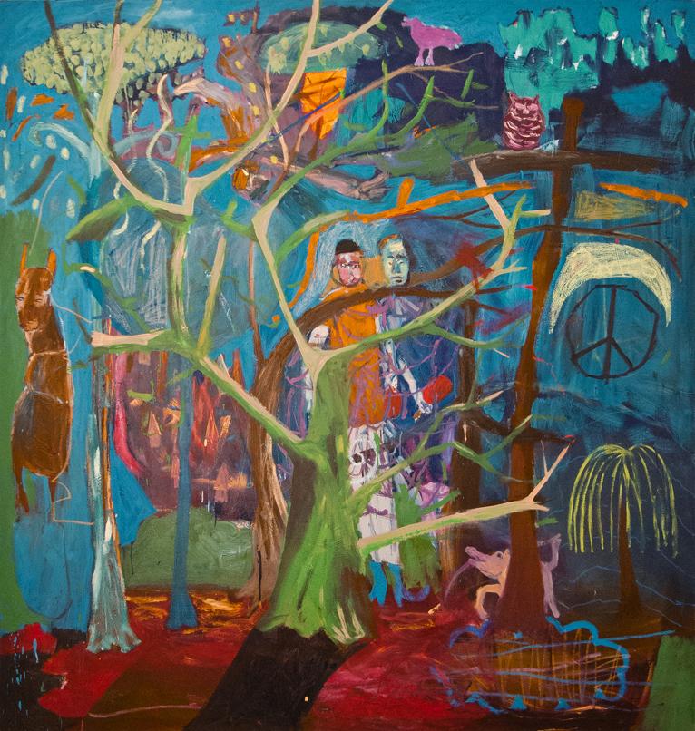 Gewinnen, nie wieder – 2012, 180 x 200 cm, , Öl auf Leinwand