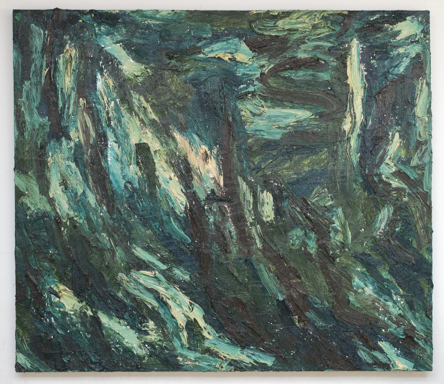 Jan de Beus | Naxos - Olieverf op doek