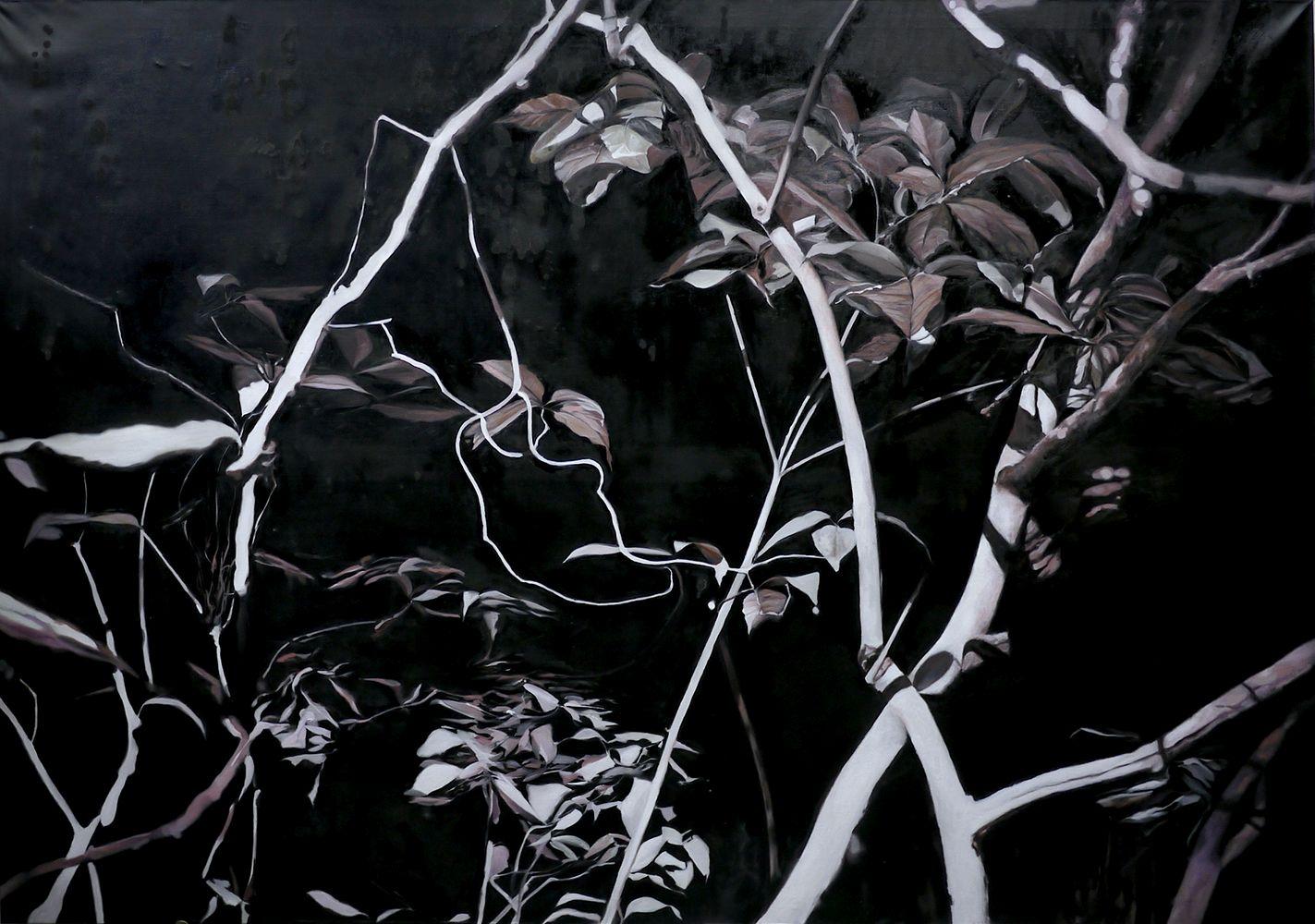 Unterholz - 180 x 130 cm, 2015