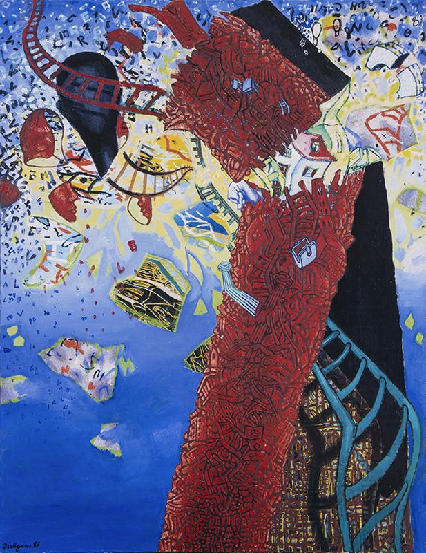 Christa Dichgans | Turmbau zu Babel