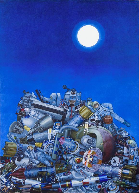 Christa Dichgans – Mond und Mondfahrt