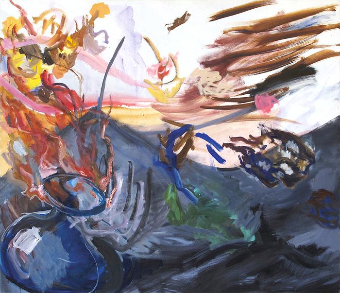 Grey Desert Victory | 125 x-145 cm, 2011