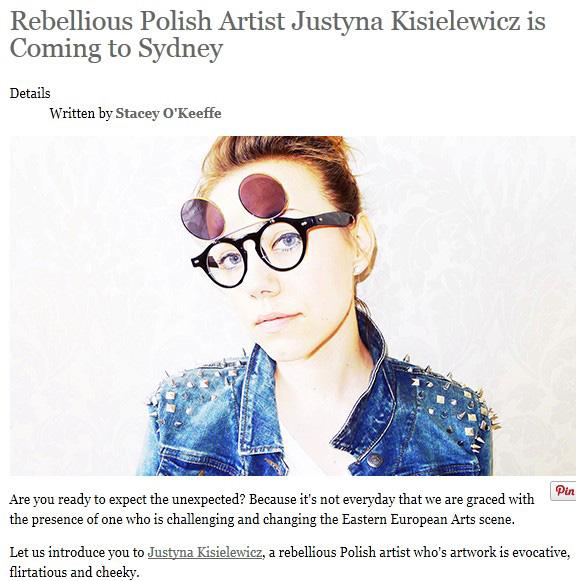 Justyna Kisielewicz - Fashion Weekly072015