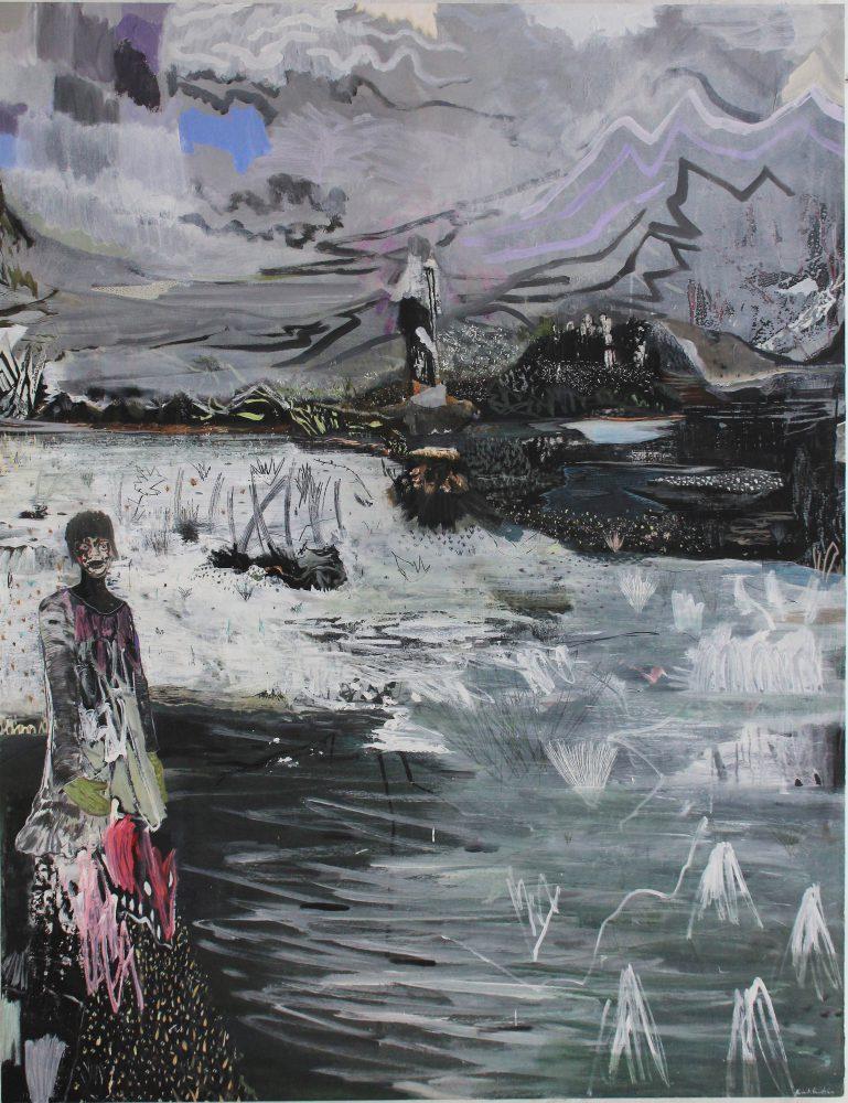 Queen Of Dreamland – 195 x 150 cm, Mischtechnik / Holz, 2011