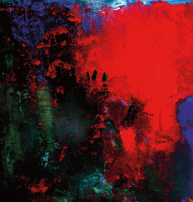 Simone Kornfeld | Red Eruption