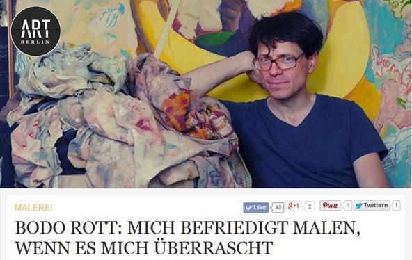 Bodo Rott | Interview ArtBerlin