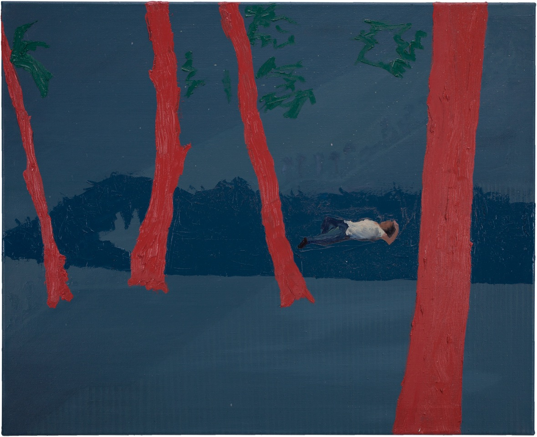 Mittagsschlaf – 65 x 80 cm, Öl auf Leinwand, 2015