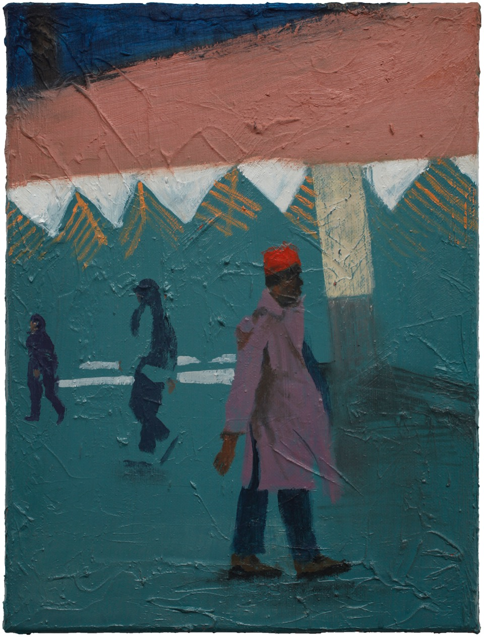 Henri Haake | O.T. (MM I) – 40 x 30 cm, Öl auf L., 2016