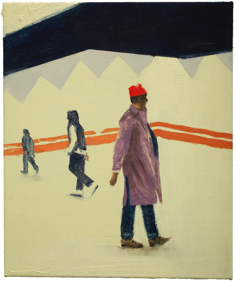 Henri Haake | O.T. (MM I) – 60 x 50 cm, Öl auf L., 2016