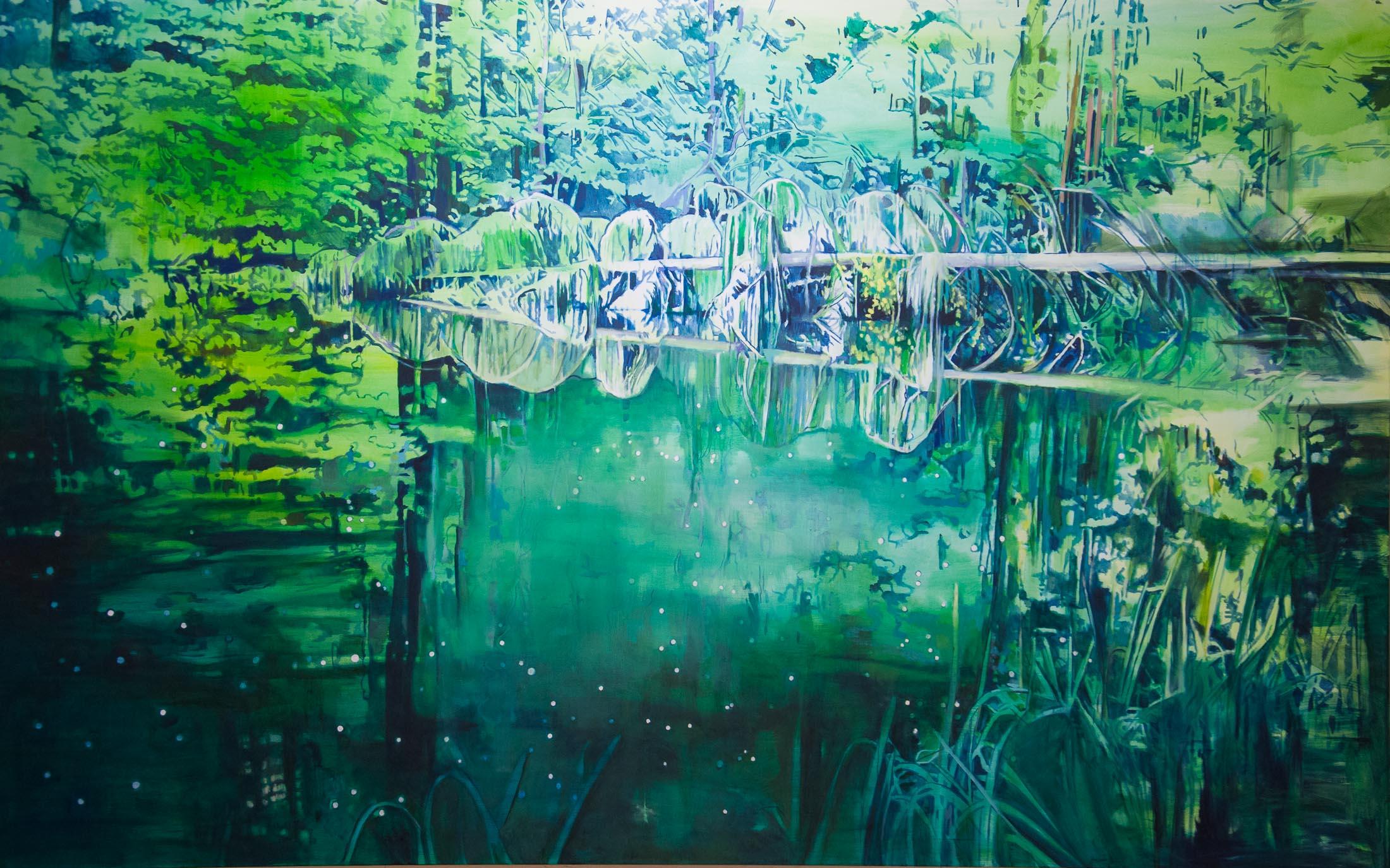 Passion – 190 x 300 cm, 2015, Öl / Lw