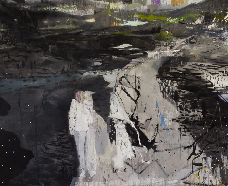 A Young Painters Love, 220 x 270 cm, Mischtechnik / Leinwand