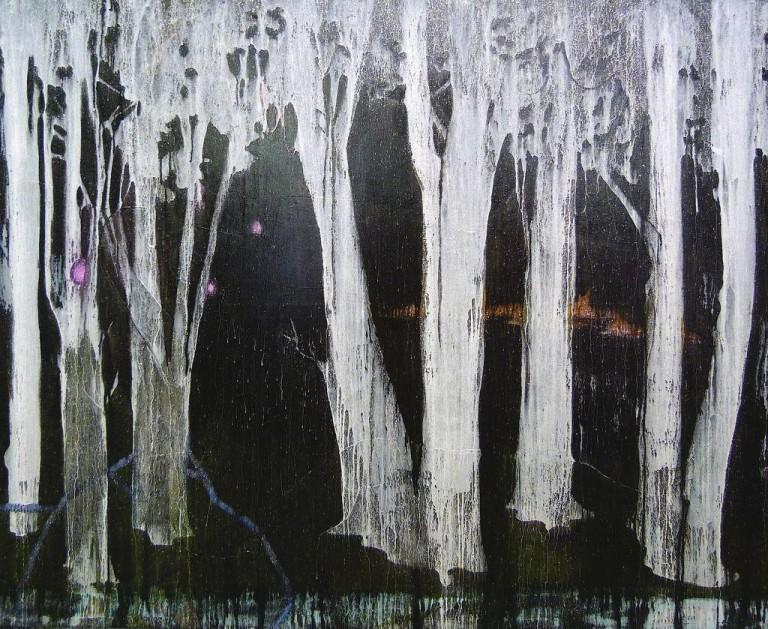 Quiet Riot - 2012, 220 x 180 cm, Öl / Lw
