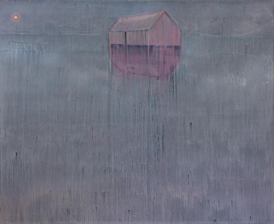 Becker Schmitz | Den Elementen zum Trotz | 2012, 180 x 200 cm, Öl / Leinwand