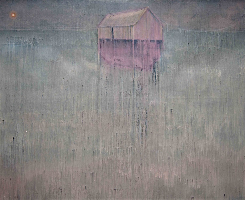 Den Elementen zum Trotz - 2013, 200 x 250 cm, Öl / Lw