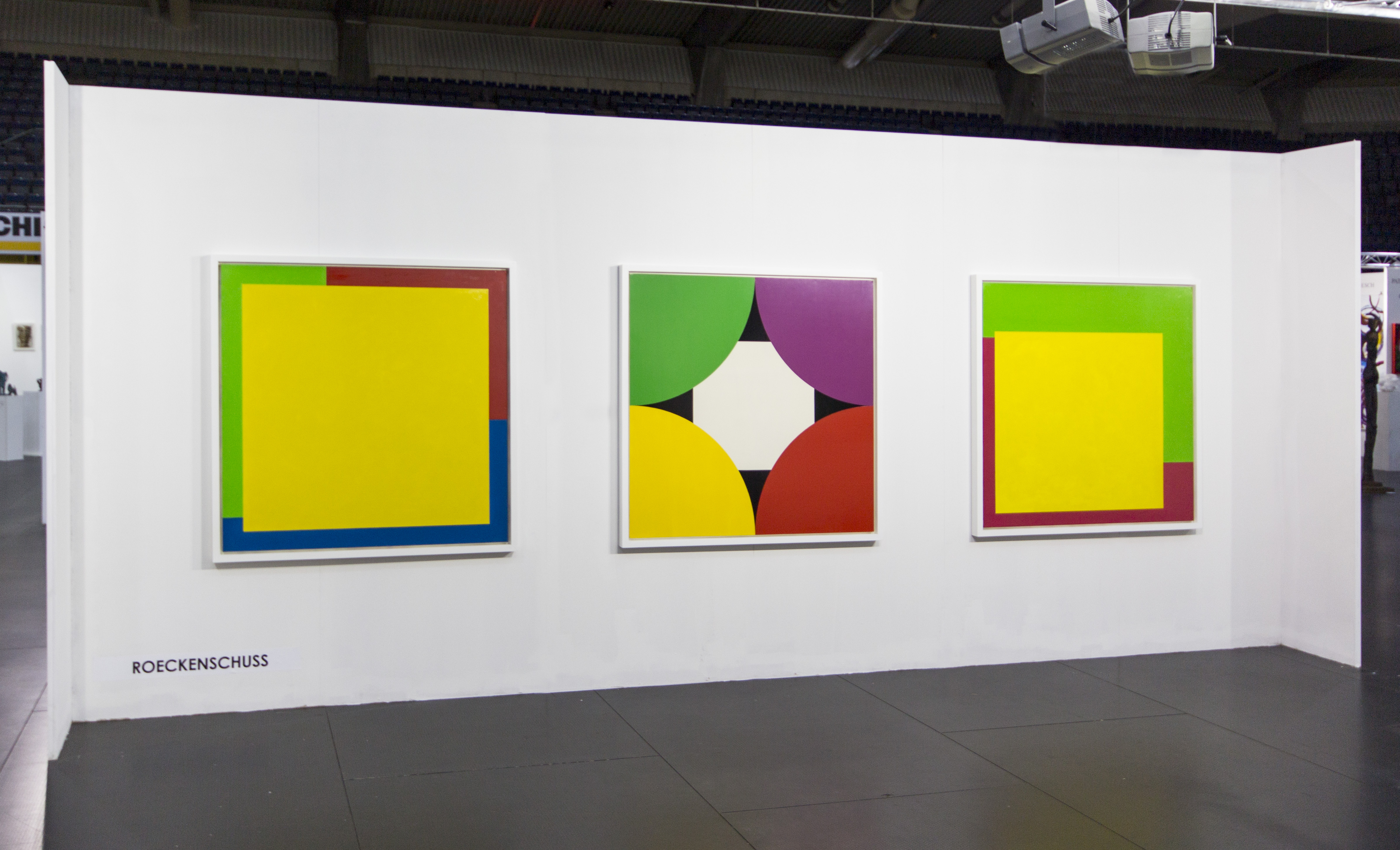 Christian Roeckenschuss - Farbfeldmalerei