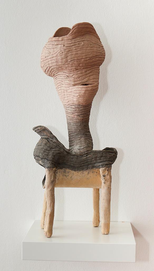 SUSANNE RING | OT, 2016, ca. 60 cm, Keramik, gebrannt, glasiert
