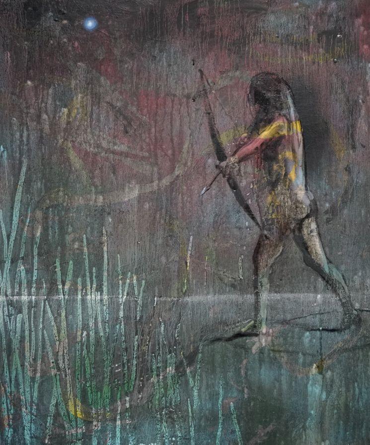 Becker Schmitz | Nacht Ohne Morgen, 120 cm x 100 cm, 2017