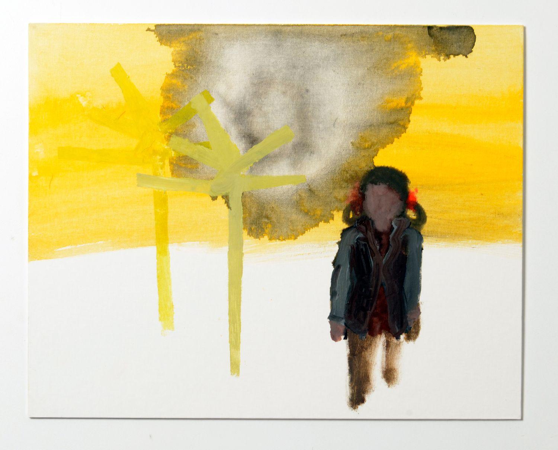 Susanne Ring |O.T. - Öl auf kaschiertem Karton 2007, ca. 40 x 50 cm
