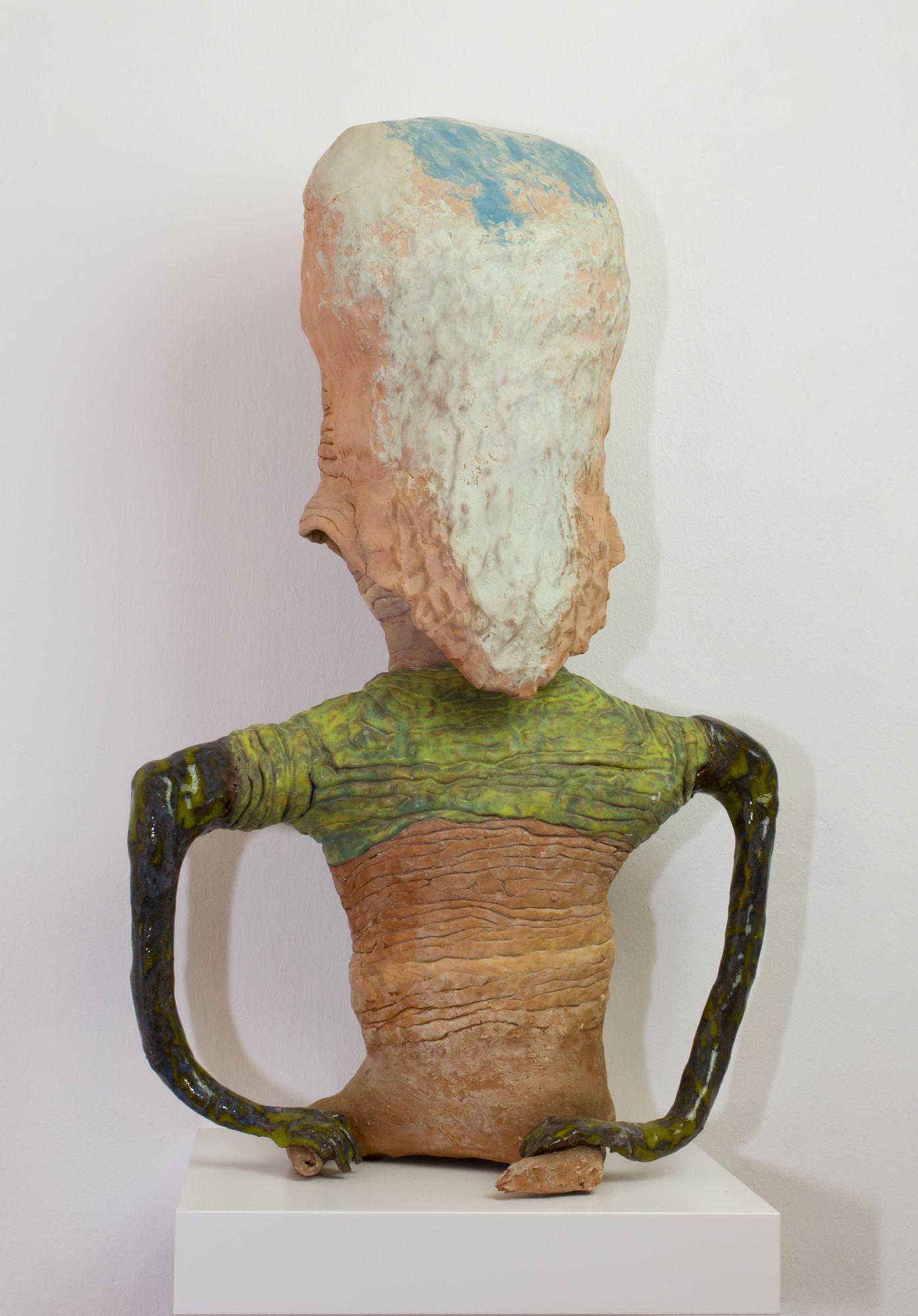 Susanne Ring | OT – 2011/2016, ca. 60 cm, Keramik, gebrannt, glasiert