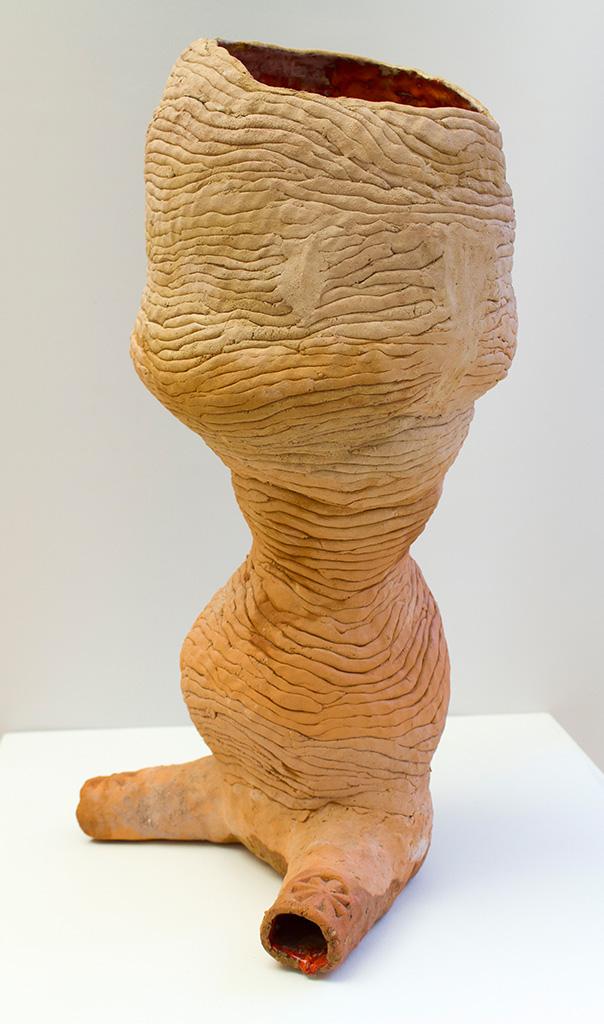 SUSANNE RING | Tonne, 2010, ca. 90 cm, Keramik, innen glasiert