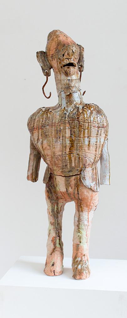 SUSANNE RING | OT, 2016, ca. 100 cm, Keramik, glasiert, gebrannt
