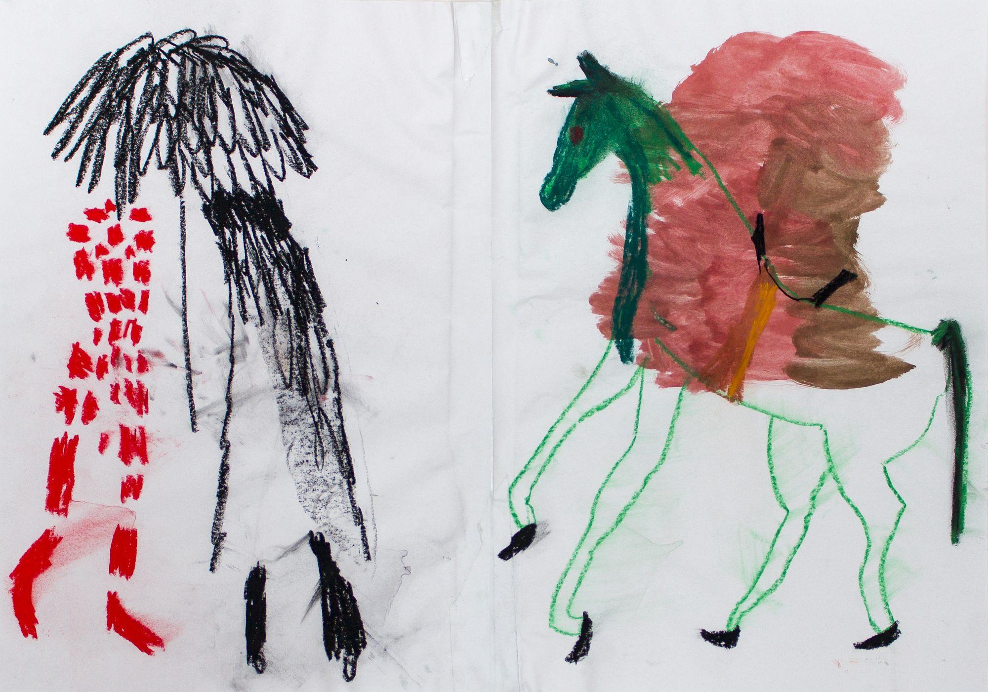 Susanne Ring | OT – 2016, 41 x 60 cm, Mischtechnik auf Papier
