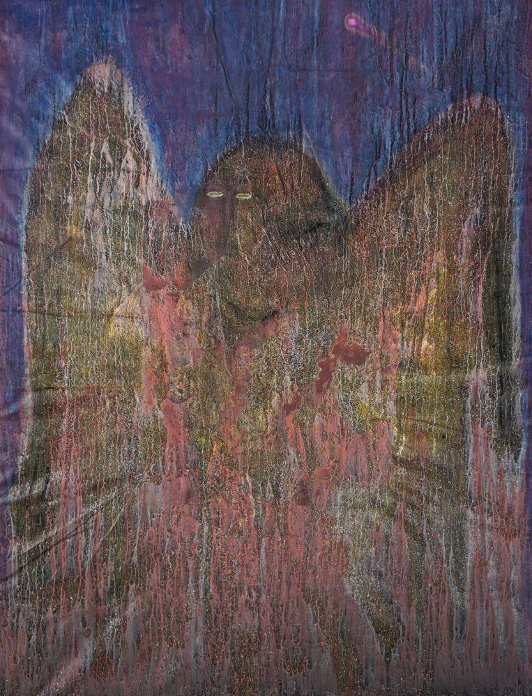 Becker Schmitz | Vogelmensch, 171 cm x 130 cm, 2017, Öl / Lw