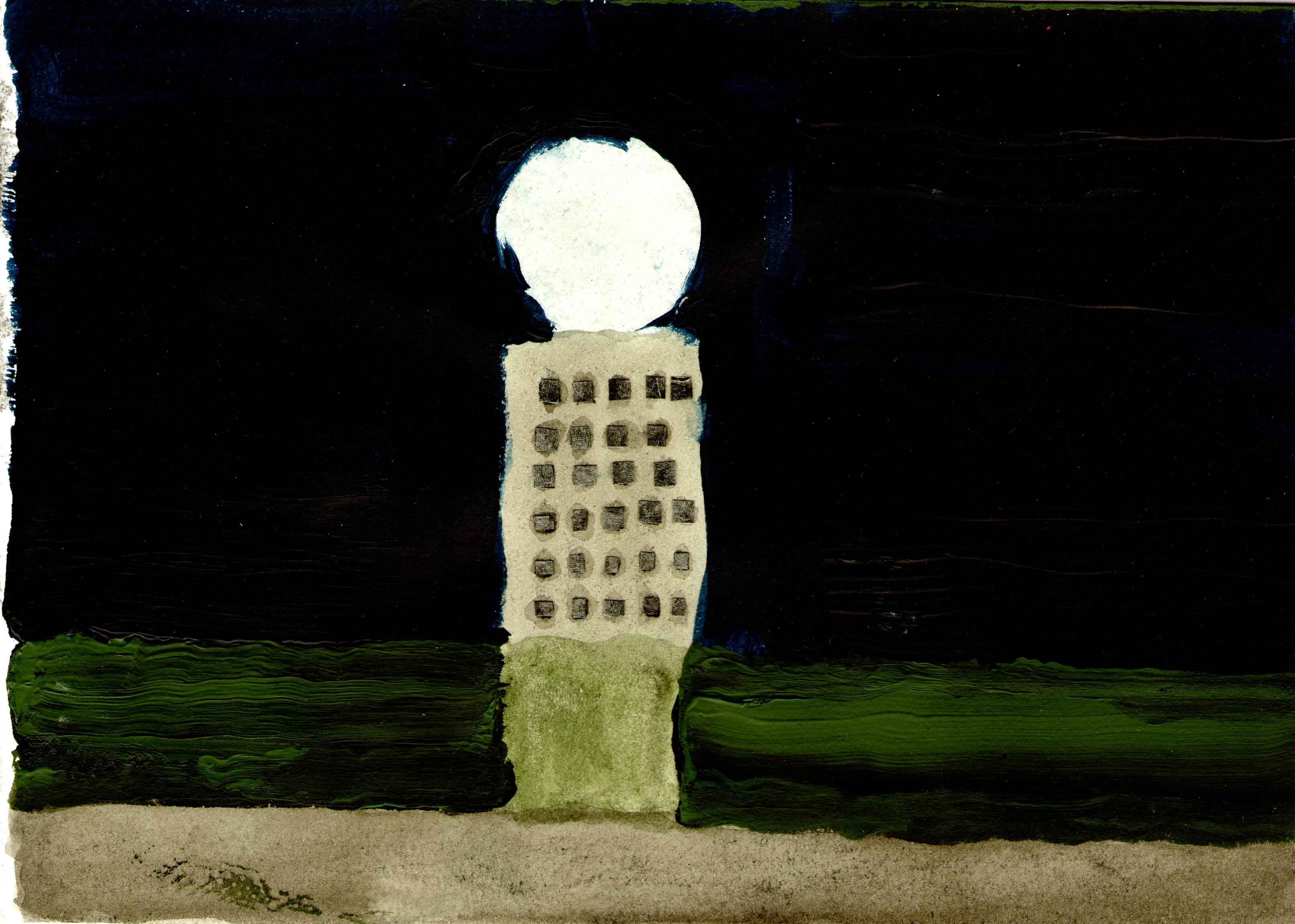 Walter Yu – OT | 15 x 21 cm, 2016, Mischtechnik / Papier