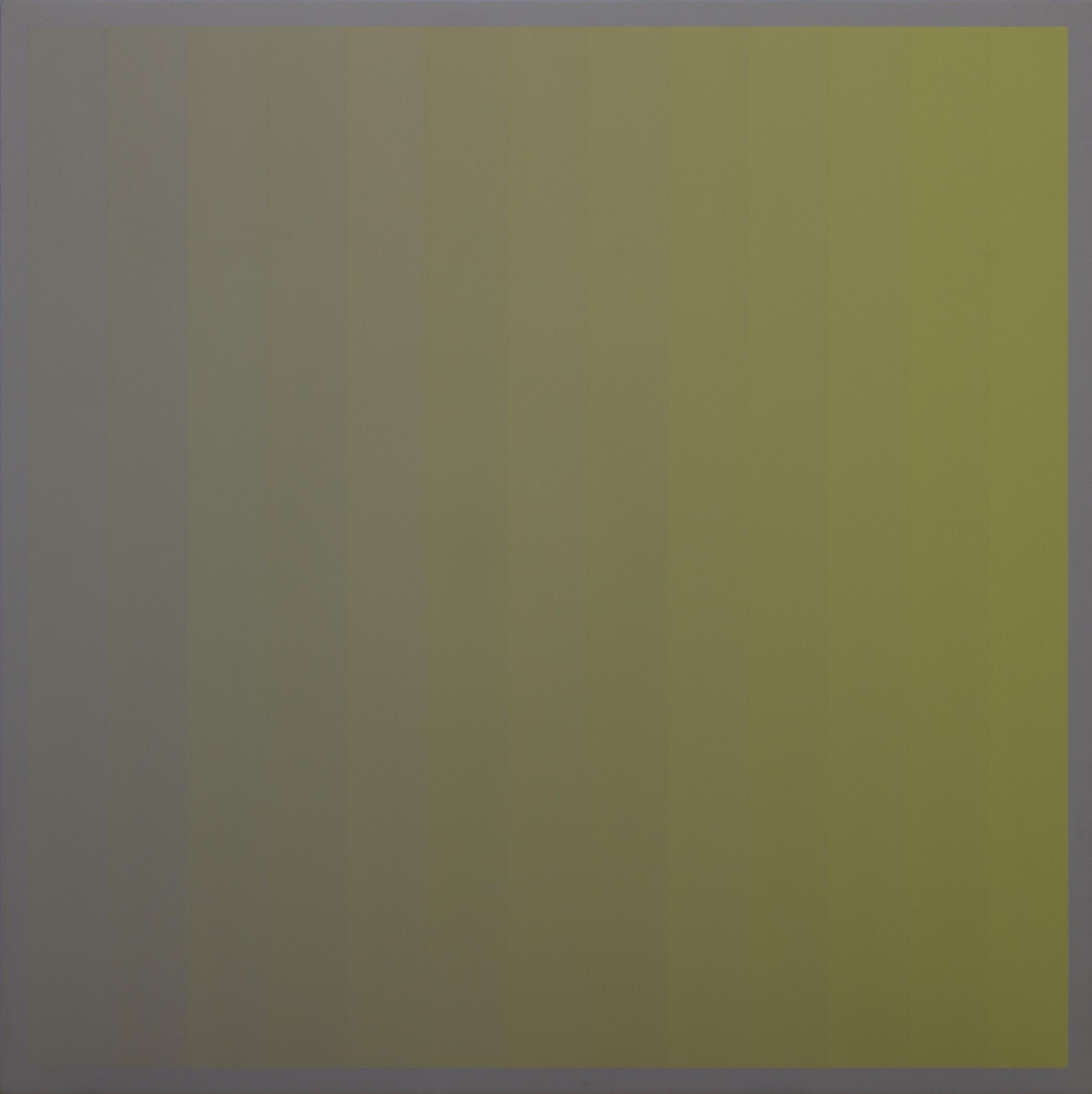 Christian Roeckenschuss | K317, 100 x 100 cm, Alkydharzfarbe auf Phenapan, 1982