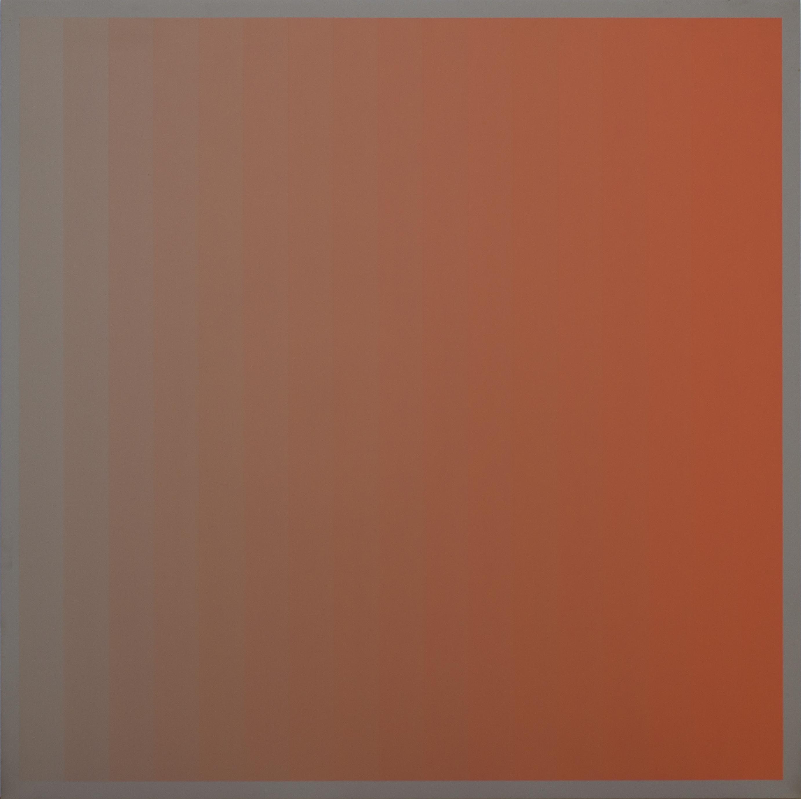 Christian Roeckenschuss | K319, 100 x 100 cm, Alkydharzfarbe auf Phenapan