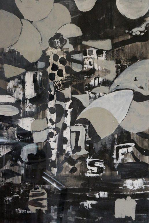 Kevin A. Rausch | Clandestino, 2015, 85 x 59 cm, MT auf Papier