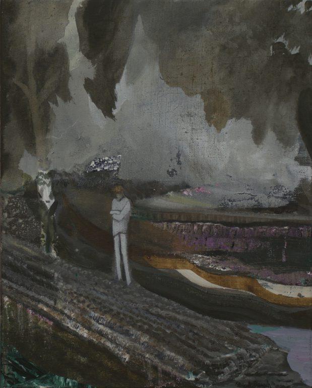Kevin A. Rausch - Dreamer, 2016, 50 x 40 cm, MT auf LW