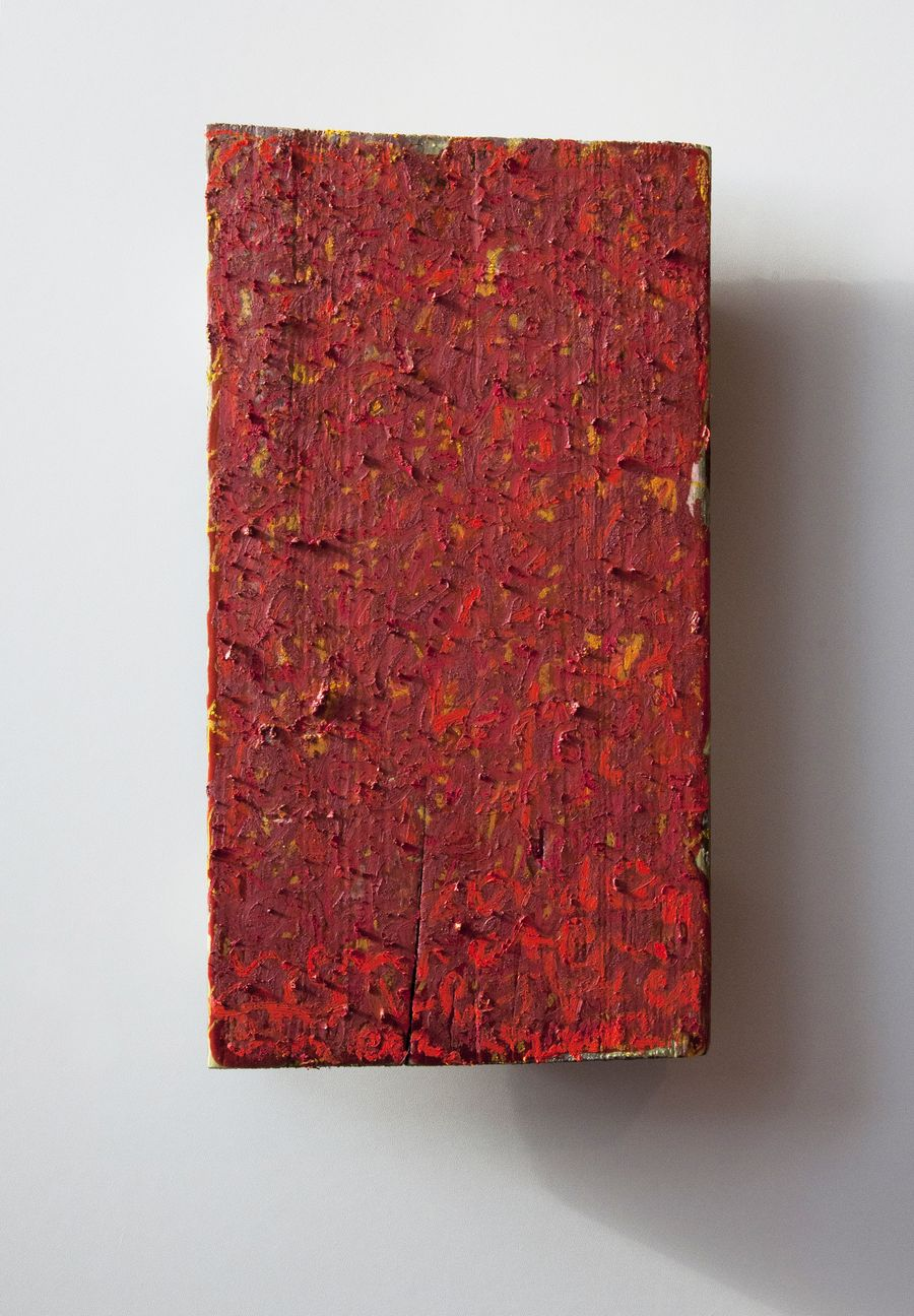 Karlyn De Jongh - BERLIN - ABOUT COLOUR - 235 X 440 MM - MIXED MEDIA ON WOOD