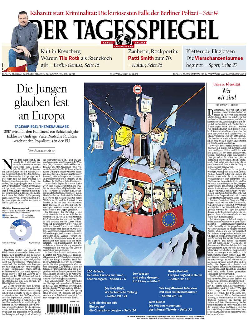 Jim Avignon im Tagesspiegel vom 30.12.2016