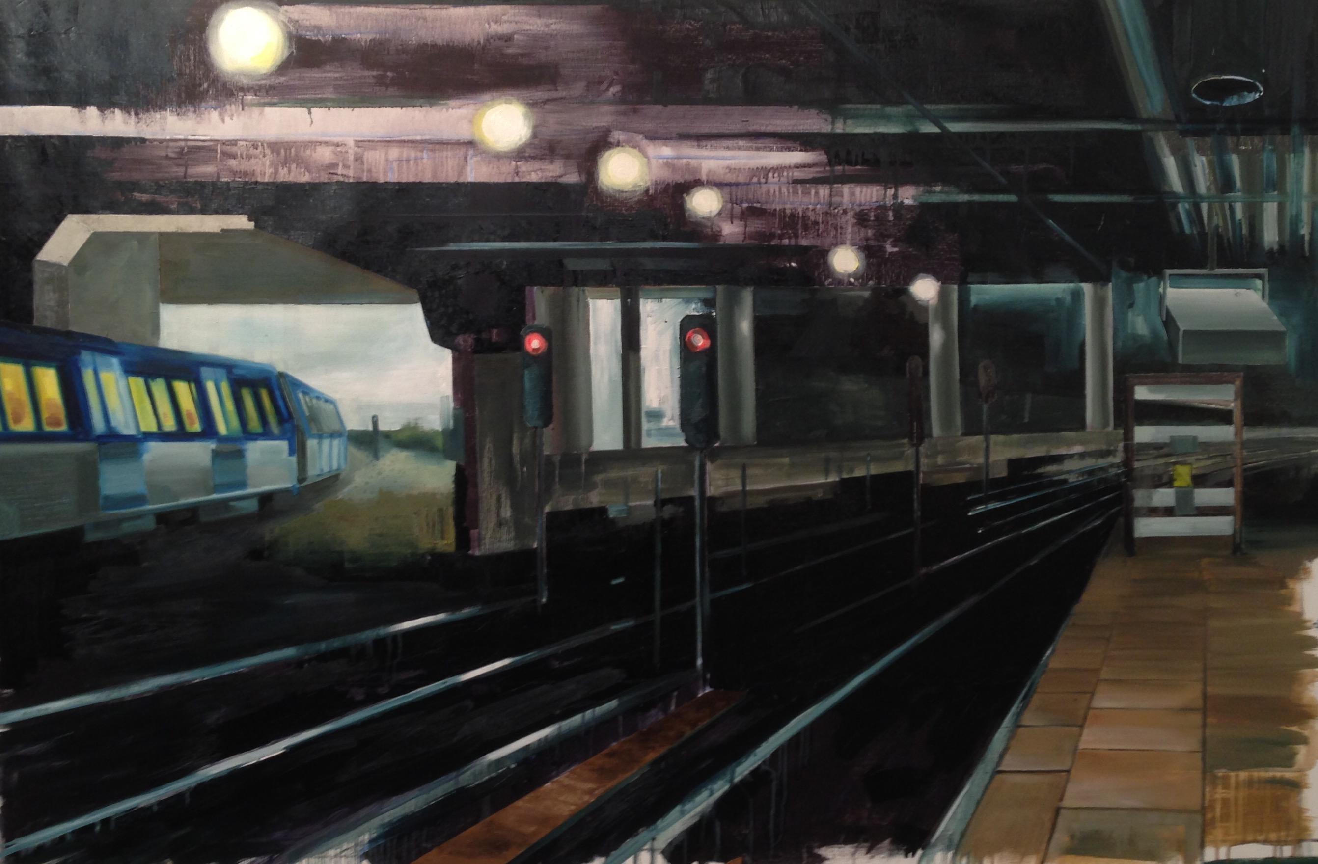 Tomas Nanne Sandberg – OT, 150 x 200 cm, Öl / Lw