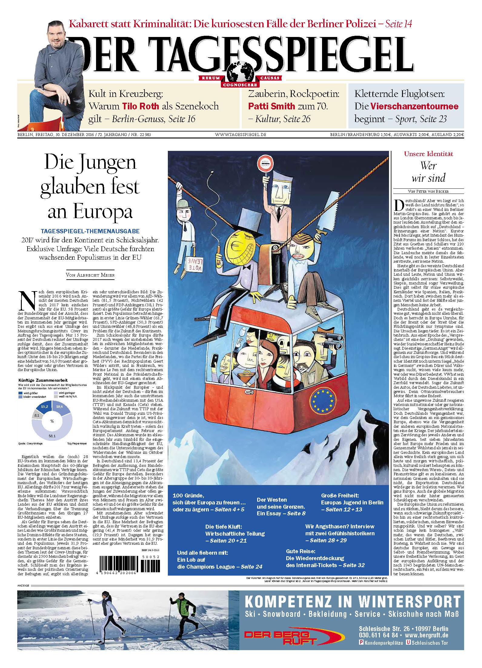 Jim Avignon – Tagesspiegel 30.12.2016