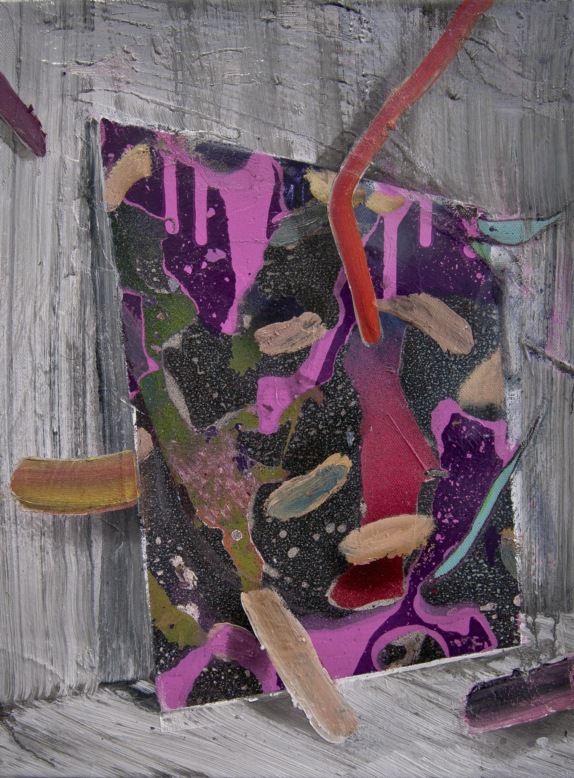 Becker Schmitz | Die Farbfrequenz | 2015, 40 x 30 cm, Öl / Leinwand