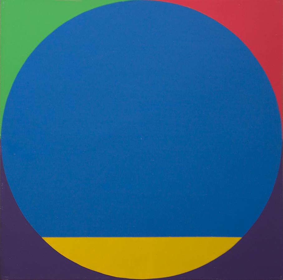 Christian Roeckenschuss | K338 – 30 x 30 cm, Spritzlack auf Karton