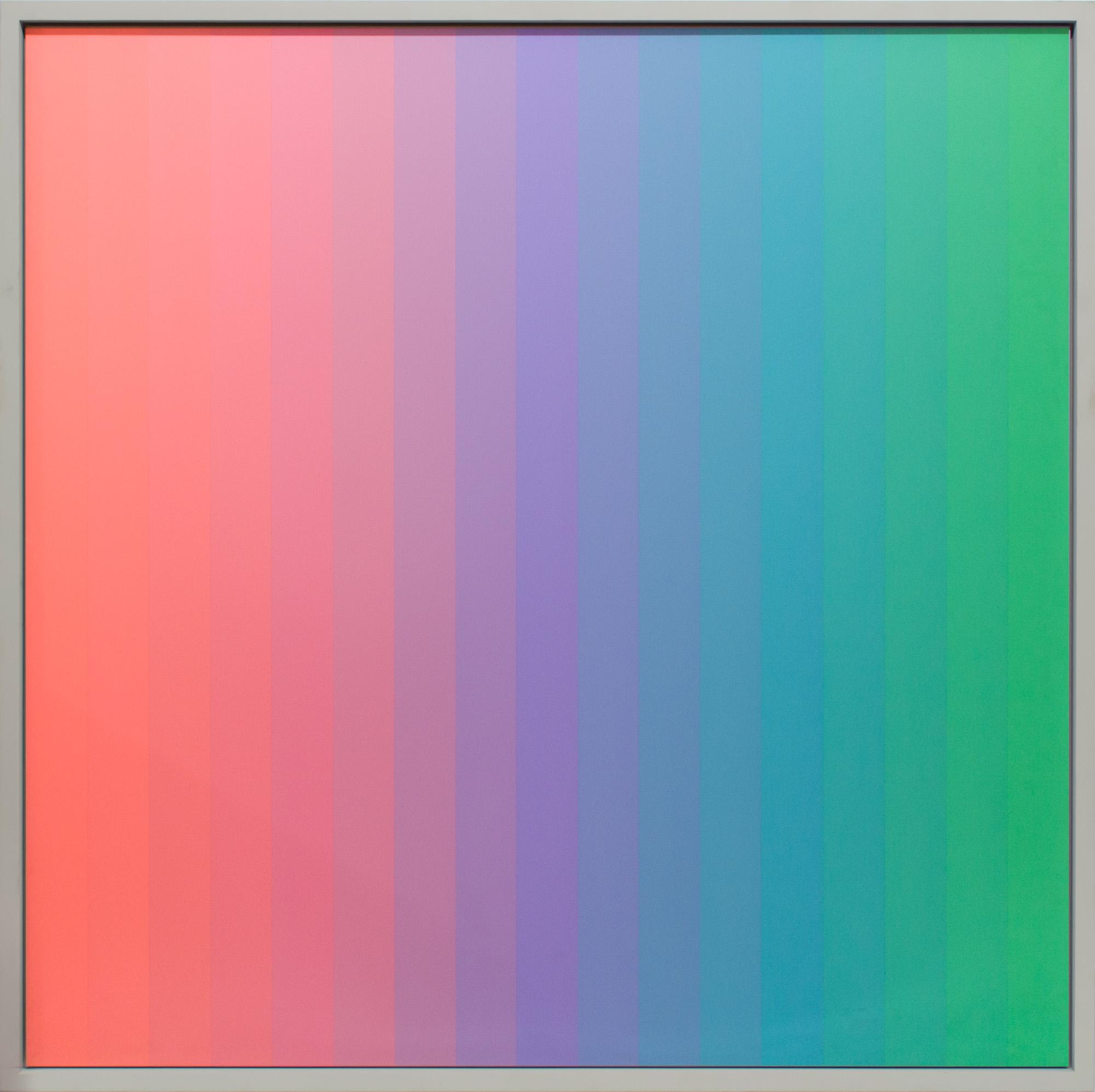 Christian Roeckenschuss | K273 – 140 x 140 cm, Alkydharzfarbe auf Phenapan
