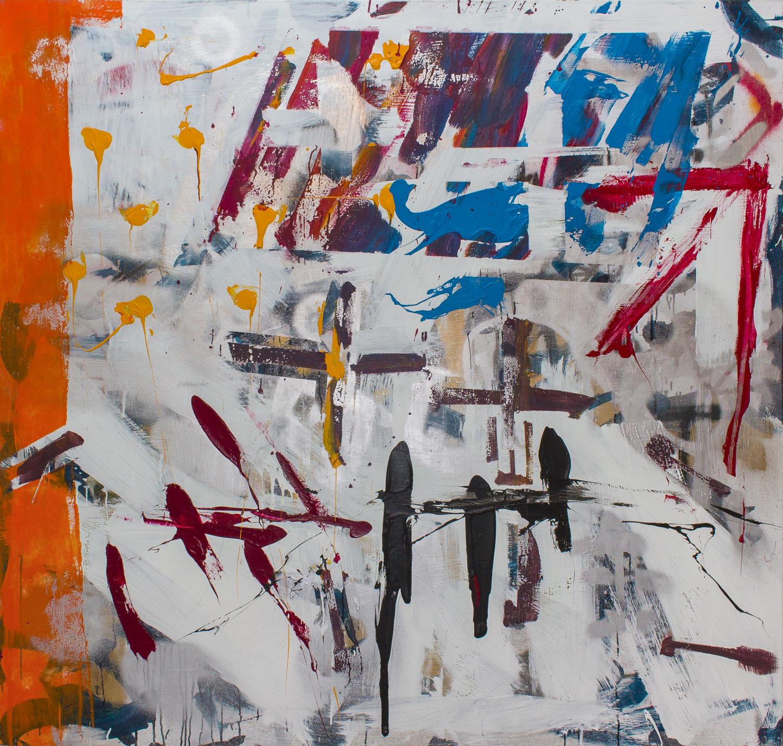 ter Hell – Multivision, 200 x 210 cm, 2004, Mischtechnik auf Leinwand