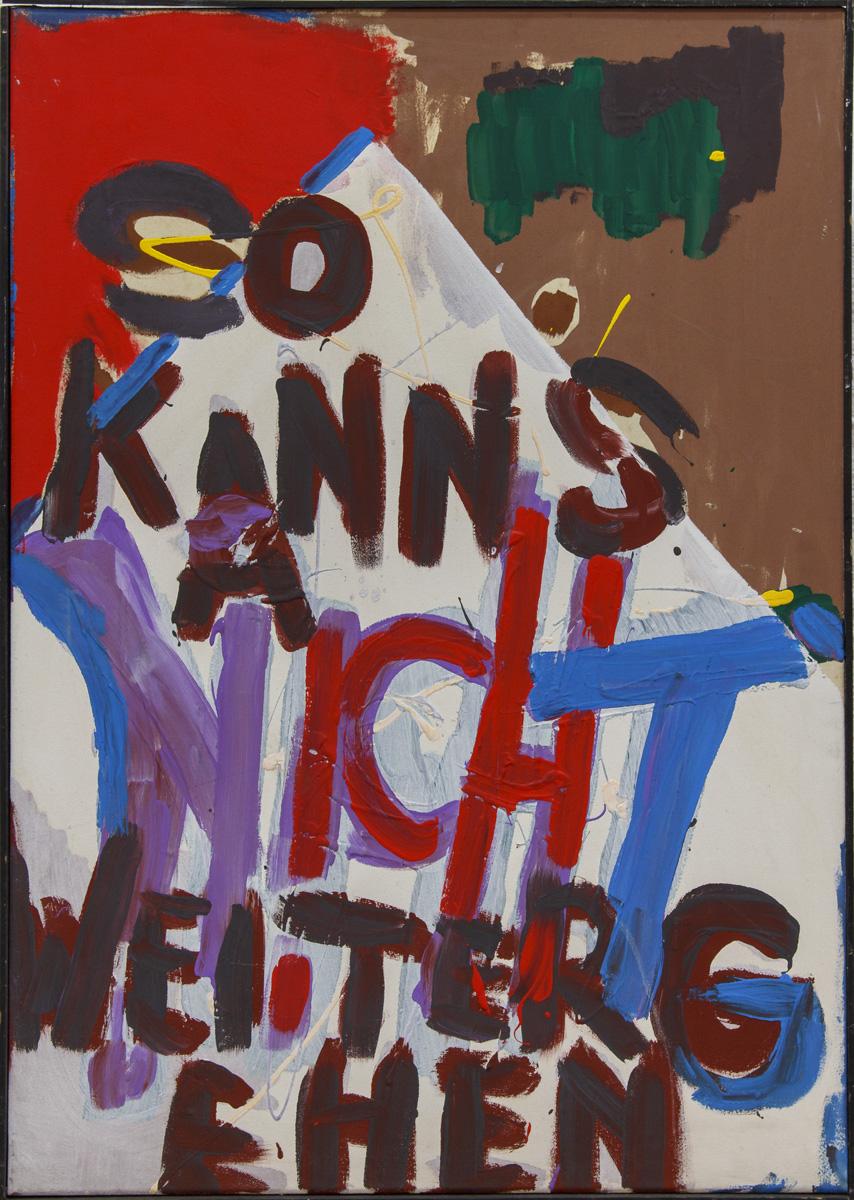 ter Hell – OT, 85 x 60 cm, 1979