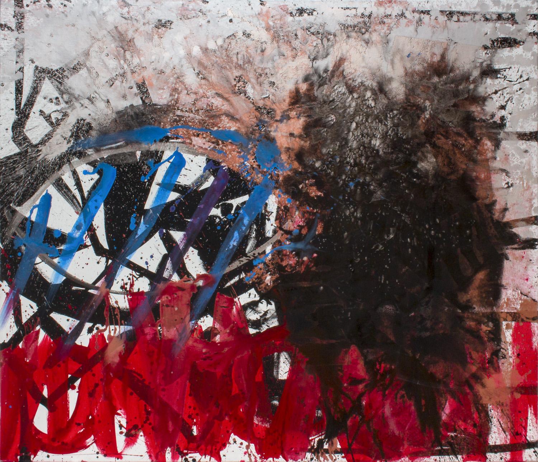 ter Hell – Merry Go Round, 210 x 150 cm, 2013, Mischtechnik auf Leinwand