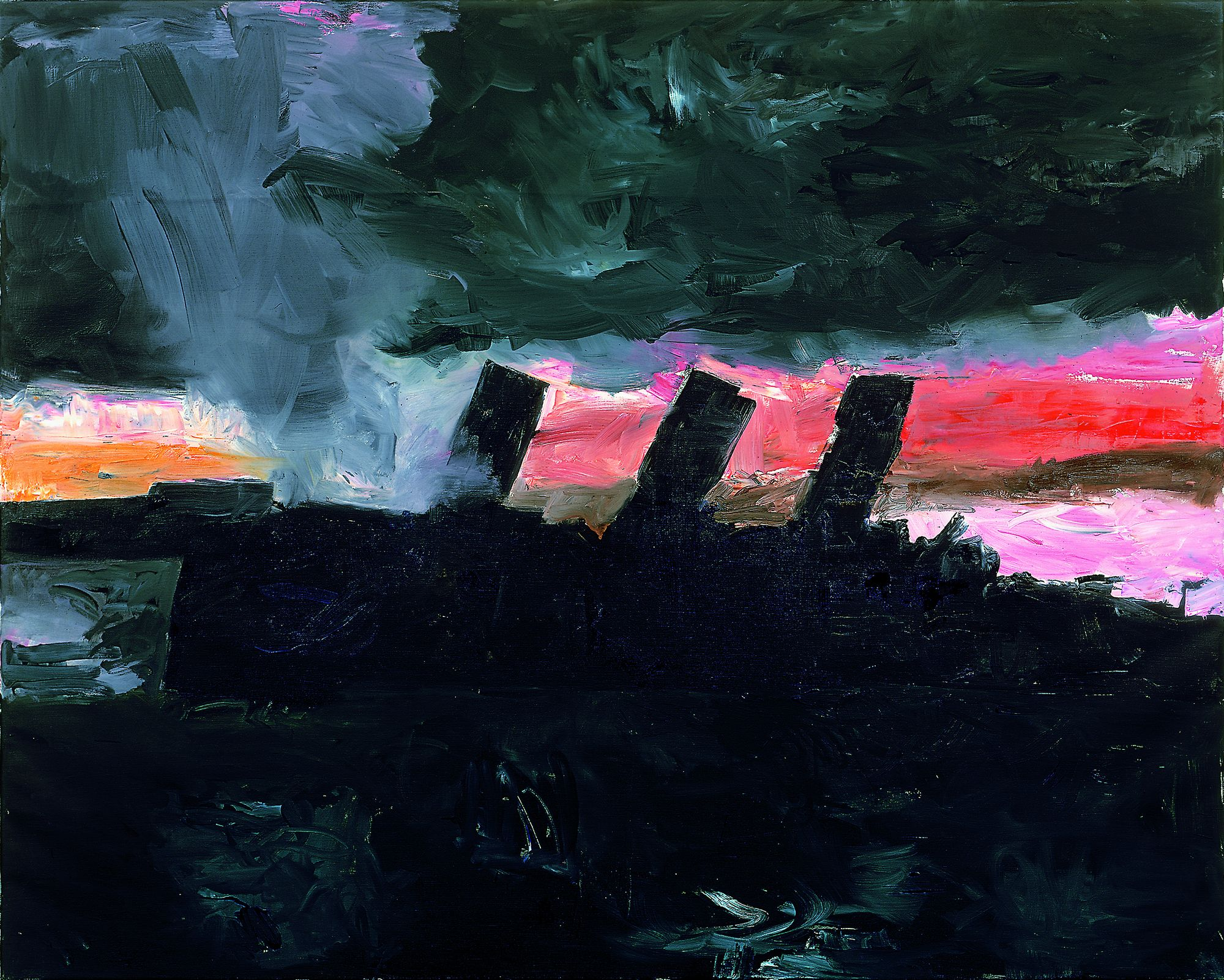 Ulrich Baehr | DAs 20. Jahrhundert XXVII, 2002, 160 x 200 cm