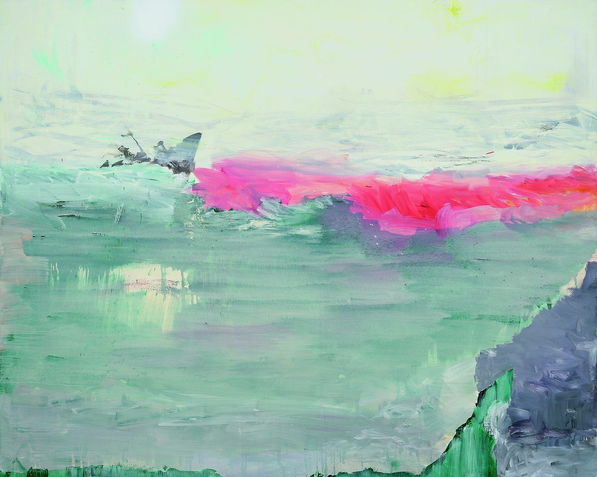Ulrich Baehr | Das 20. Jahrhundert XX, 2002, 160 x 200 cm, Öl / Leinwwand