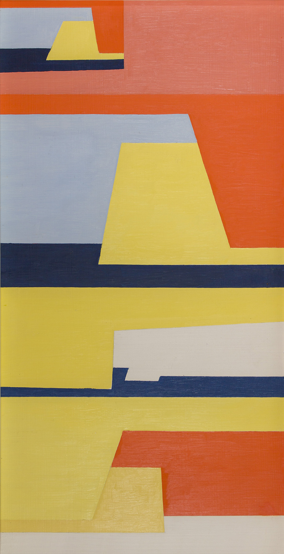 Christian Roeckenschuss   K516, 66 x 35 cm, um 1956, Holz farbig gefasst