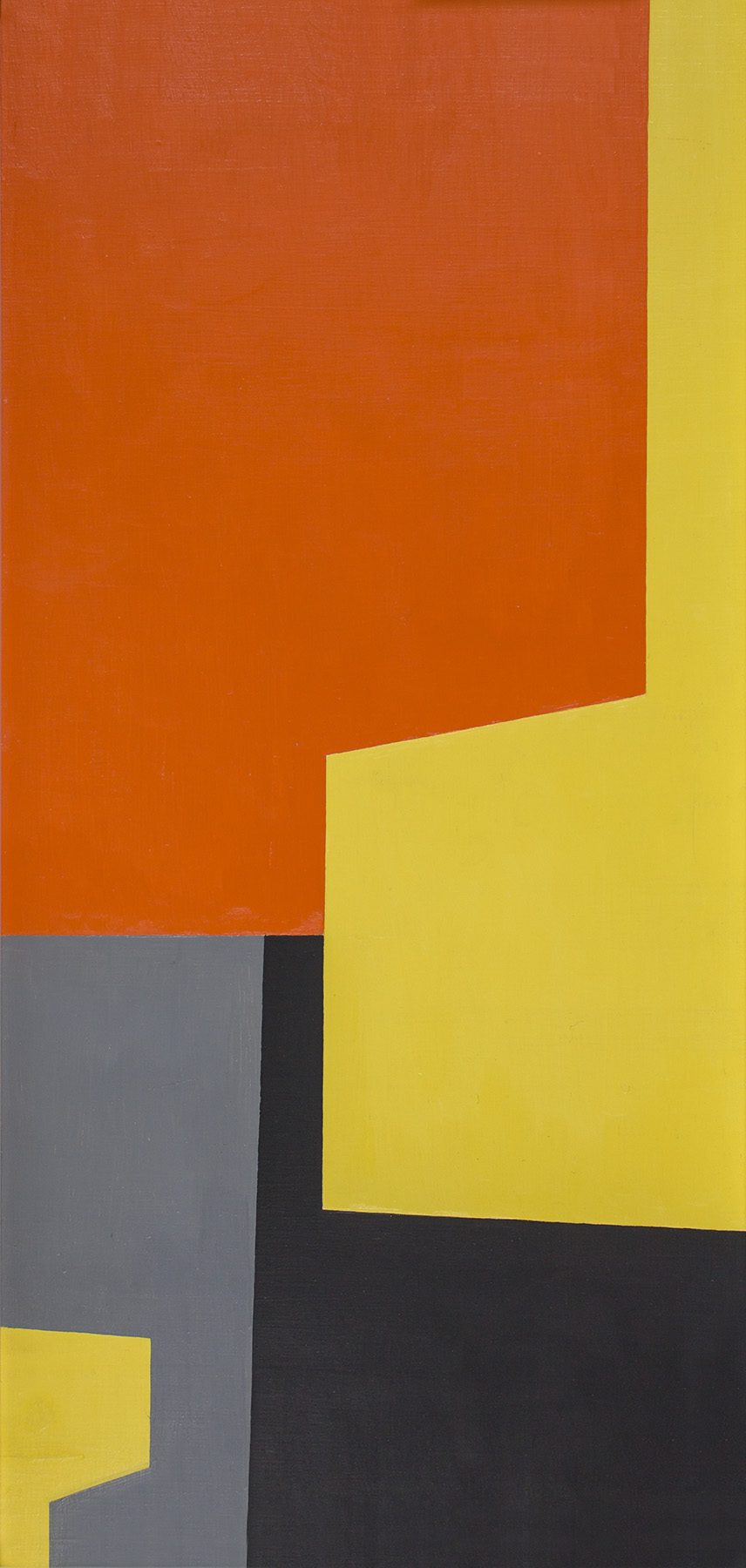 Christian Roeckenschuss   K517, 38 x 79 cm, 1955, Holz farbig gefasst