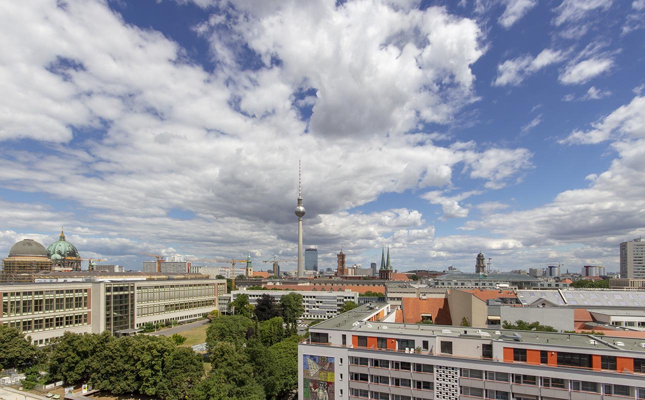 Blick vom Dach des Auswärtigen Amtes